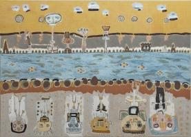 lesancetres-peinturepaysage-ethnique