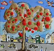 arbredevie-peinture23x24-thierryvirton-figurationlibre