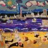 liledoleron-peinturepaysage-outsiderart-figurationlibre