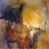 aurore-peinture-abstrait-lyrique-paysage