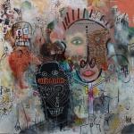 newway-virton-outsiderartpainting-self-taught-primitivism-humanfigure-narrativepainting