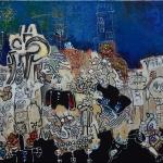 bluelife-virton-outsiderartpainting-self-taught-primitivism-humanfigure-narrativepainting